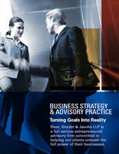 Business Advisory Brochure