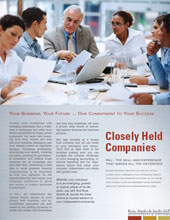 Closely Held Companies Brochure