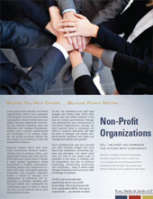 Non-Profit Organizations Brochure