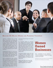 Women Owned Businesses Brochure